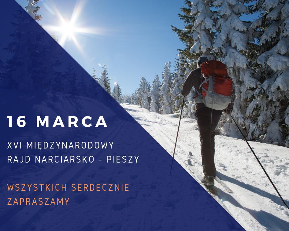 Rajd narciarsko pieszy w Wiśle